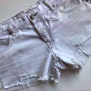 Distressed Free People Shorts